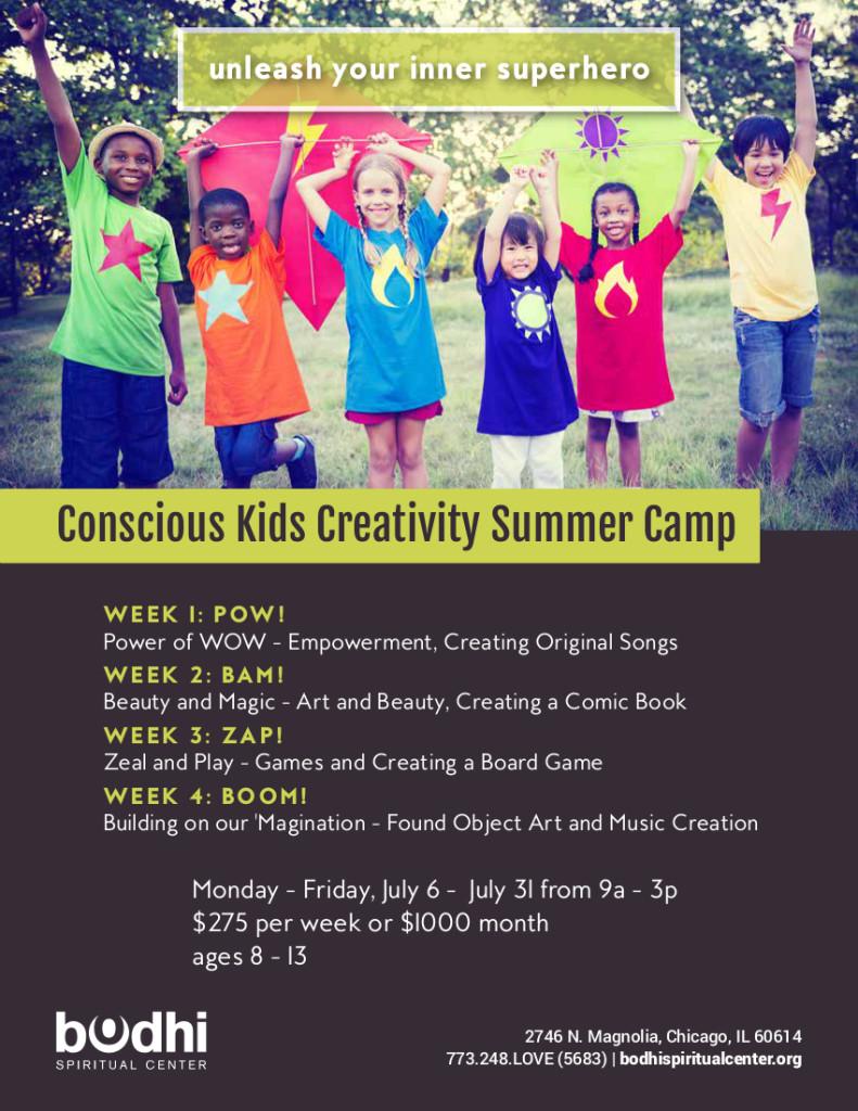 Summer Camp - Bodhi Spiritual Center - 2015