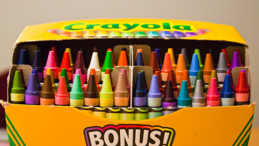 box of crayons - cropped
