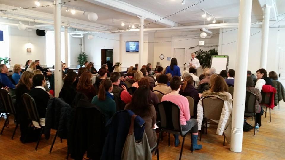 jim dethmer teaching conscious leadership at bodhi spiritual center chicago - 020915