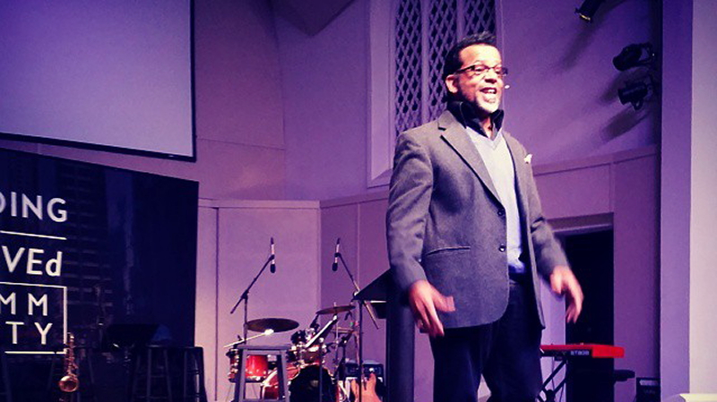 bishop carlton pearson speaking at bodhi spiritual center chicago - 03.01.15 - cropped