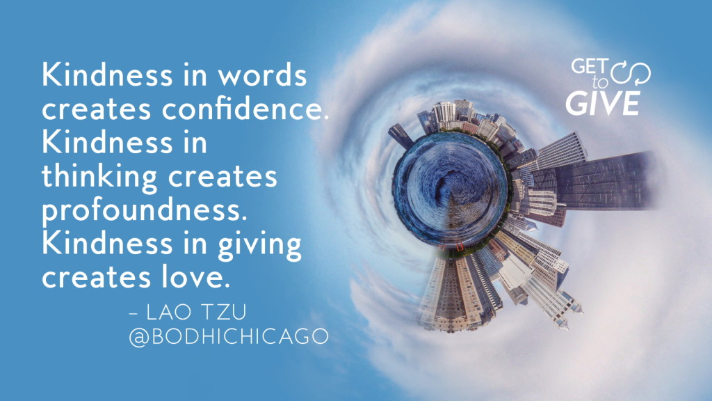 wednesday wisdom quote - lao tzu - get to give series - 10.07.15 - 1800