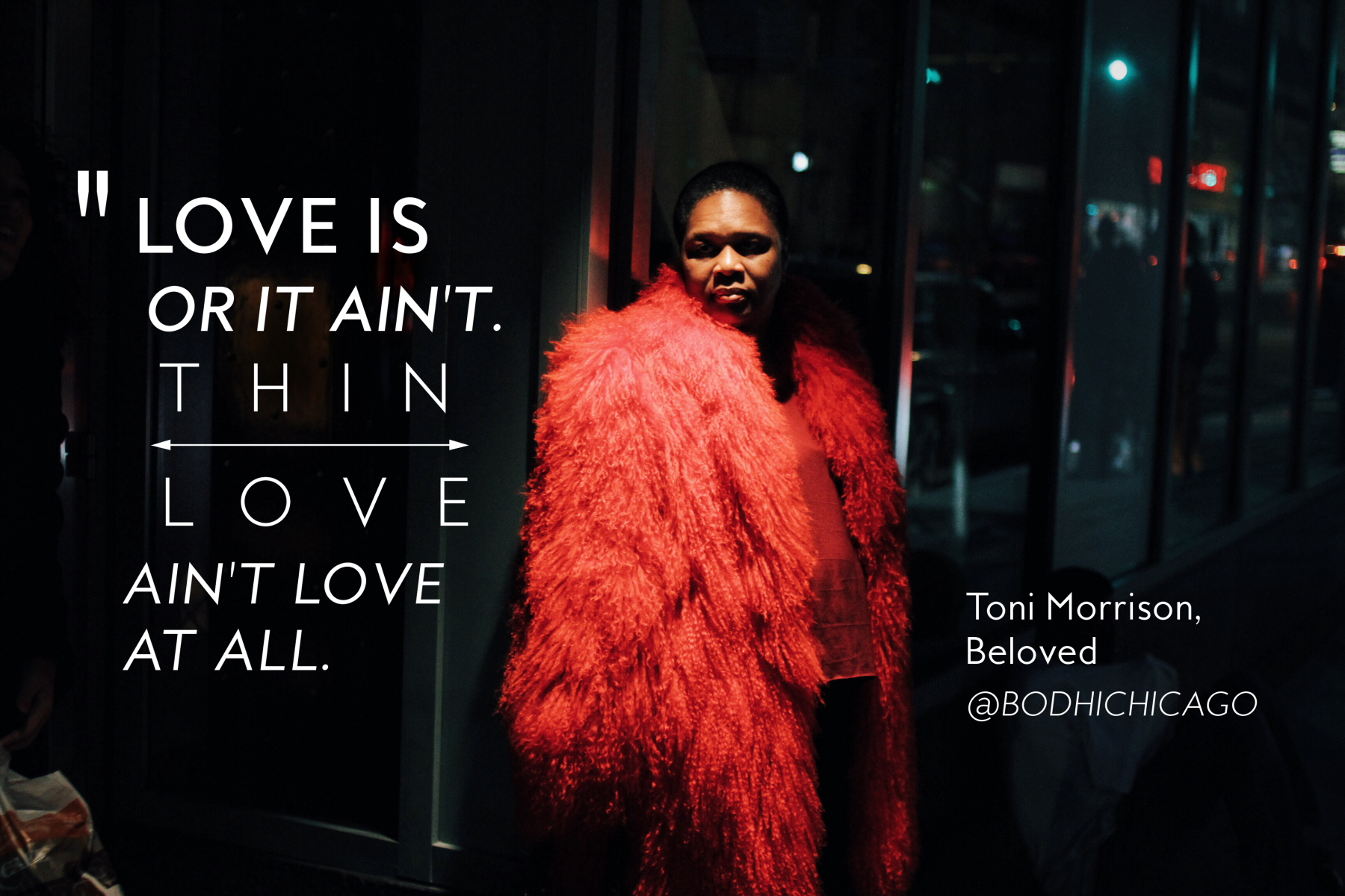 Black History Month Quotes Wednesday Wisdom Quote Toni Morrison On What Love Is  Bodhi