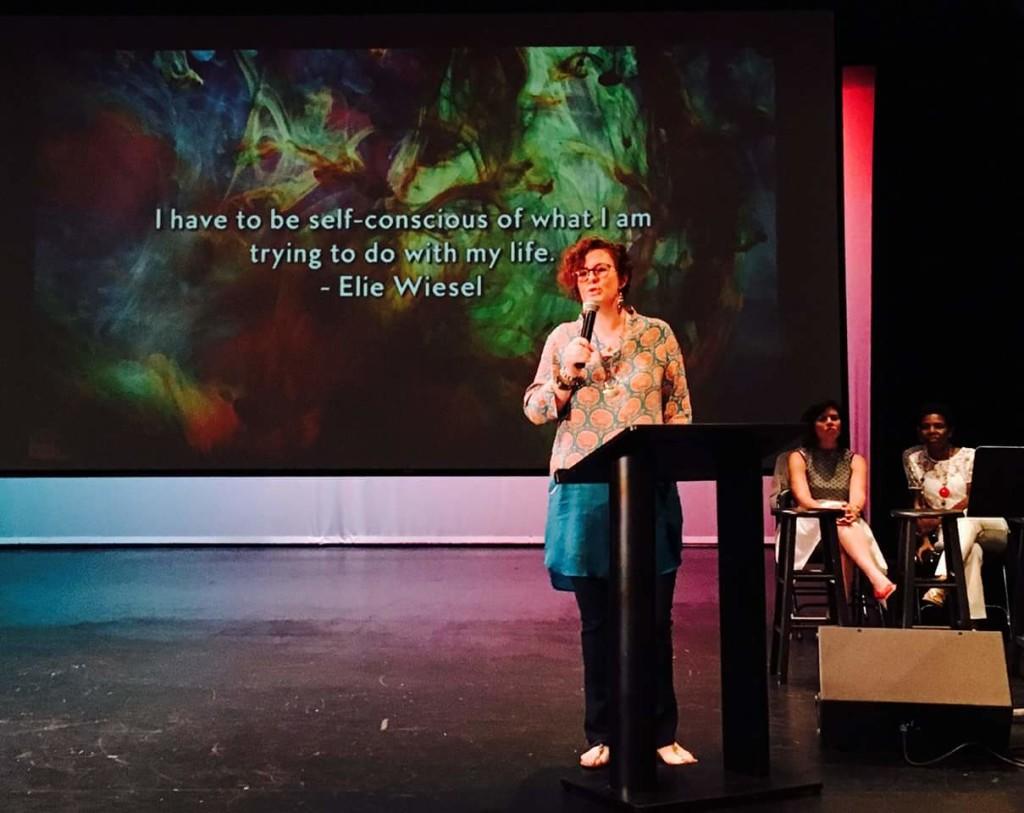 lola wright speaking at bodhi spiritual center in chicago - 07.03.16