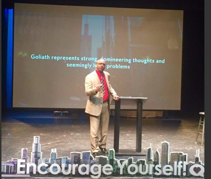 reverend gaylon mcdowell at bodhi spiritual center in chicago - 04.23.17