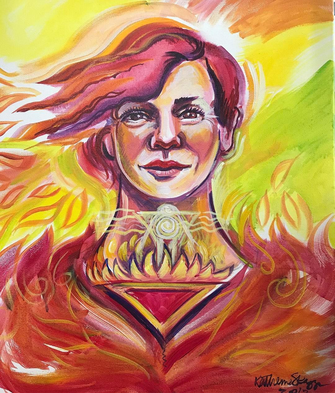 reverend lola wright soul portrait by katherine skaggs