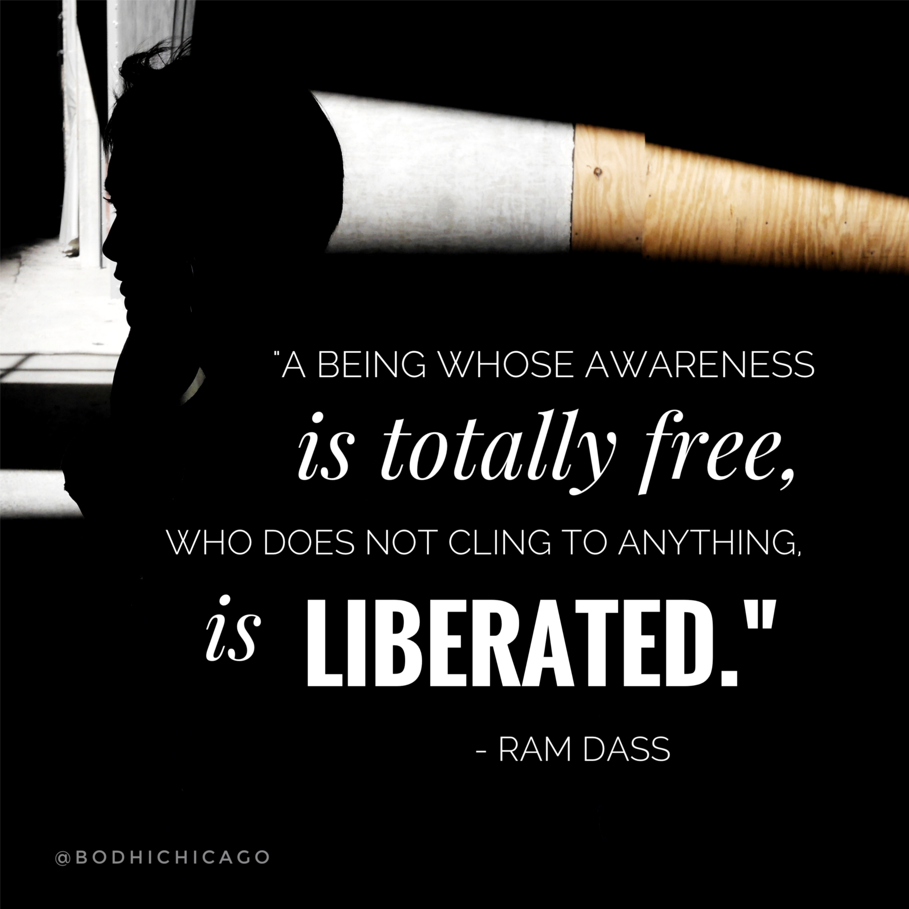 Wednesday Wisdom Quote Ram Dass On Being Liberated Bodhi