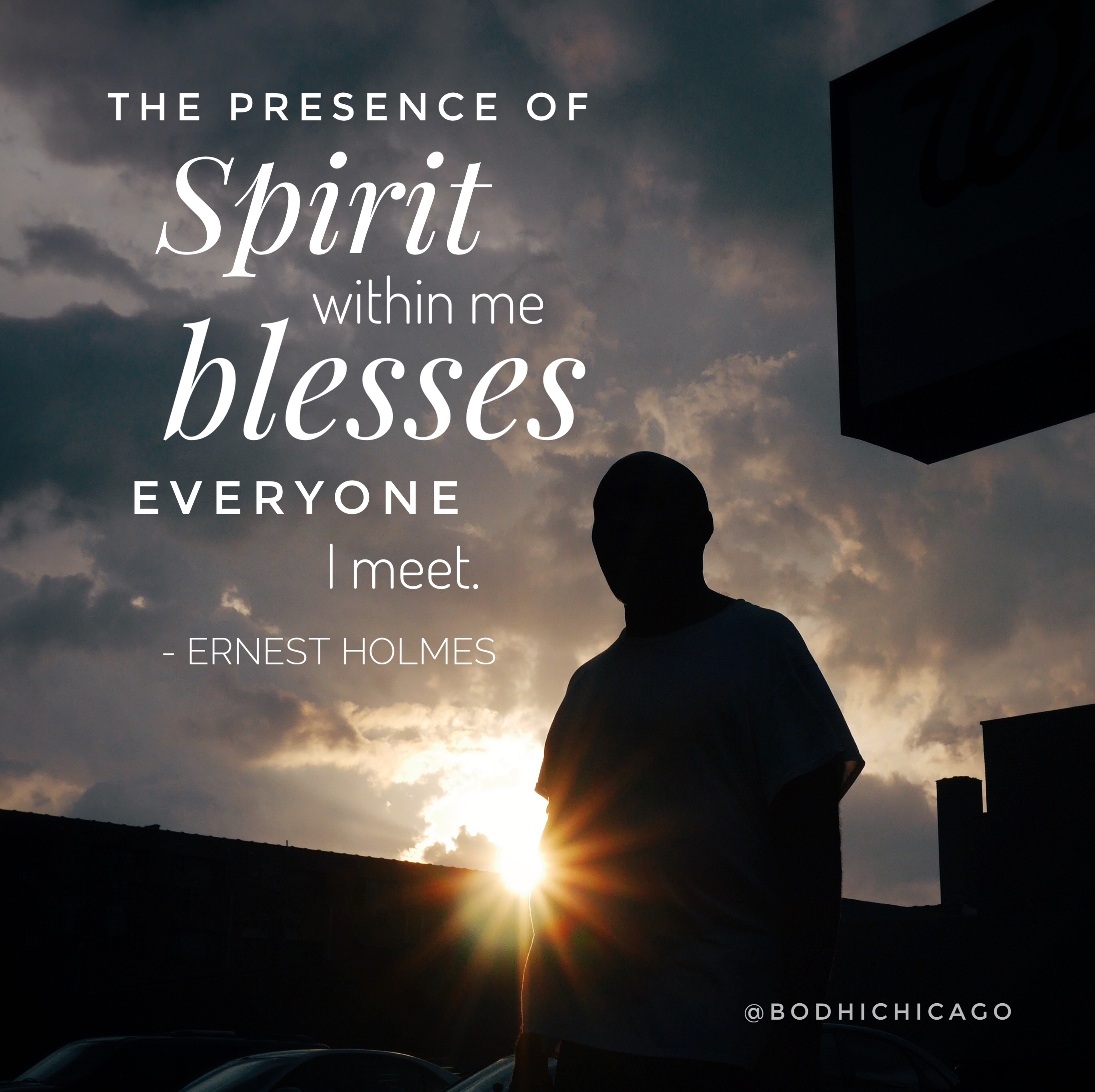 Wednesday Wisdom Quote: Ernest Holmes On The Presence Of Spirit