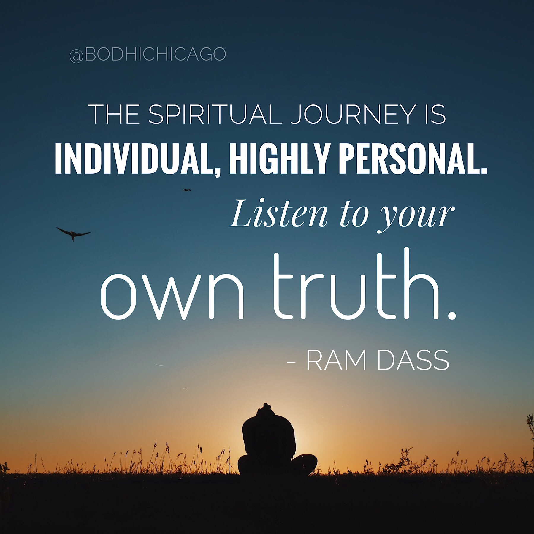 Awesome Wednesday Wisdom Quote: Ram Dass On The Spiritual Journey