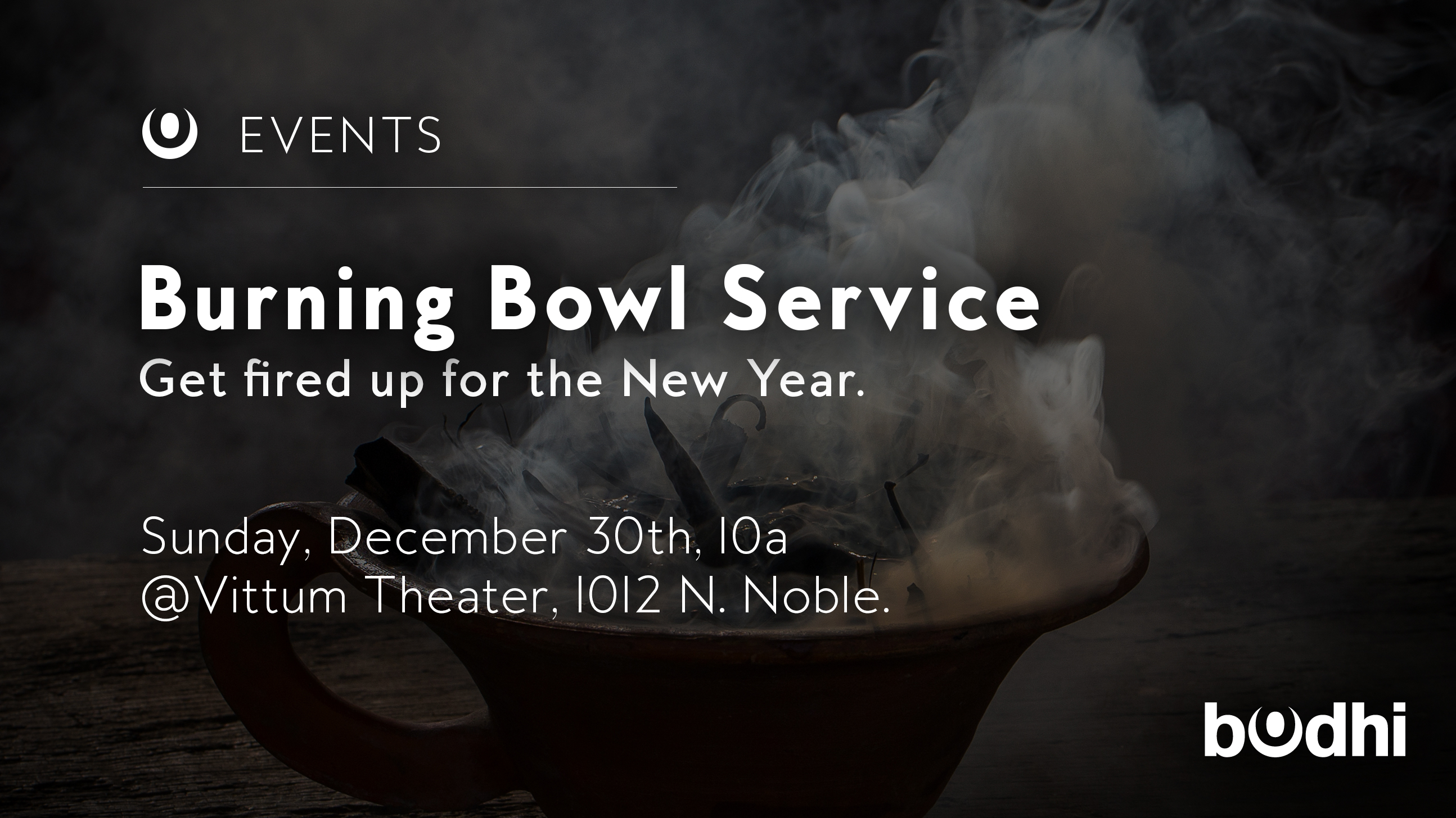 make 2019 a truly new year for you on sunday december 30th join us for our annual year end service where we burn out the old to make space for the